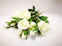 Kytice pivoňkových růží - krémová