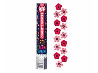 Vystřelovací konfety mini - holografické bílé