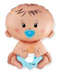 Foliový balónek - miminko 60cm - kluk