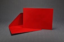 Obálka barevná - červená