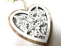 Porcelánové srdce - sada 3ks