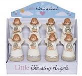Anděl pro štěstí vánoční mix - 4 druhy