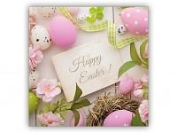 Ubrousky - velikonoční Happy Easter