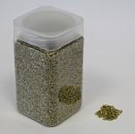 Dekorační skleněná drť - zlatá