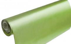 Saténová role - pastelově zelená - 12 cm/9 m