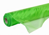 Organza šerpa - briliant irská zelená