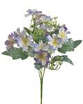 Umělá kytice klematis - fialovo-modrá