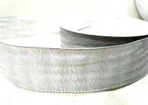 Stuha - imitace pytloviny - růžová - 40 mm/1 m