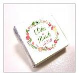 Čokoládka svatební mini - věneček jarní