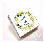 Čokoládka svatební mini - věneček podzimní