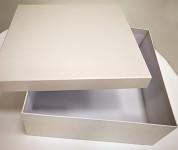 Dárková krabička malá - bílá perleť
