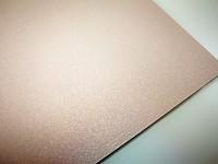 Tvrdý perleťový papír - pudrový