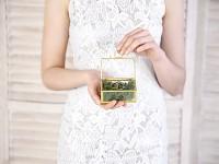 Skleněná truhlička na prstýnky