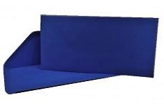 Obálka barevná DL- královsky modrá