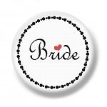 Placka velká - Bride - 1 ks