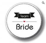 Placka - velká - team bride - 1 ks