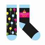 Bavlněné ponožky černé - skvělá kamarádka