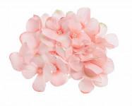 Vazbový květ hortenzie - krémový malý