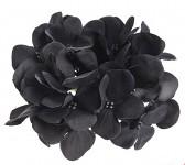 Vazbový květ hortenzie - černý malý