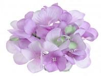Vazbový květ hortenzie - sv.fialový malý