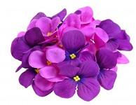 Vazbový květ hortenzie - tm.fialový malý