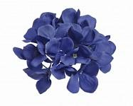 Vazbový květ hortenzie - šedomodrý malý