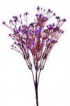 Větvička - fialové kvítky - 33 cm