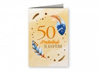 Blahopřání  - 50. narozeniny