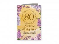 Blahopřání  - 80. narozeniny