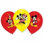 Sada balónků 6ks - Mickey