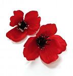 Vlčí mák - vazbový květ - 6cm