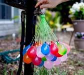 Balonky nafukovací - vodní bomby -  37 ks