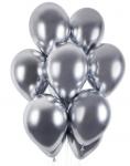 Balonky - chrom stříbrné lesklé - 1ks