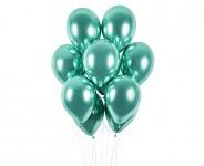 Balonek - chrom mátový lesklý - 1ks