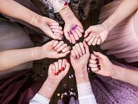 Dočasné tetování růžovozlaté - rozlučka se svobodou