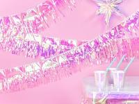 Girlanda fóliové třásně - duhová - 4m