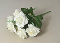 Mini růžičky sv.růžové - 30 cm
