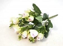 Mini růžičky bílé - 30 cm