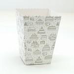 Krabička na popcorn - dortíky - 1ks