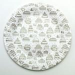 Papírové talíře - dortíky - 8ks