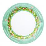 Papírové talíře - aloha - 8ks