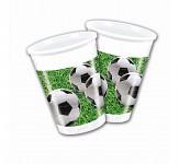 Plastové kelímky - fotbalové 8ks