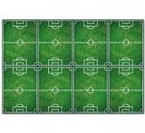 Plastový party ubrus - fotbal