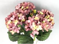 Hortenzie svazek - vintage fialová