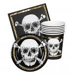 Sada pirátského prostírání - 24ks