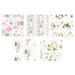 Balicí dárkový svatební papír - mix - 2m