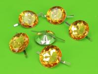 Diamanty kulaté zlaté - 6ks