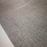 Látková šerpa - šedá lesklá - 2,5 m