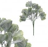 Tráva umělá zelená frost - 35 cm