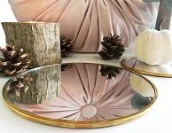 Dřevěný březový oválek - 20 cm